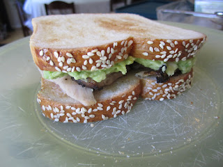 Delicious Chicken Avocado Sandwich