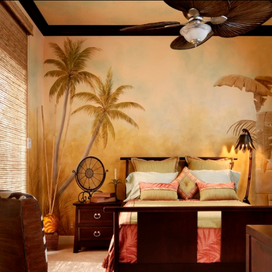 Tropical bedroom furniture bedroom furniture high resolution for Hawaiian themed bedroom designs
