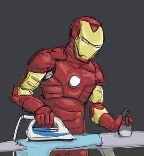 ironman ironing rajnikanth cloths