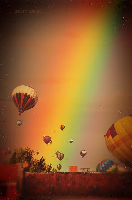 Rainbow over Berlin