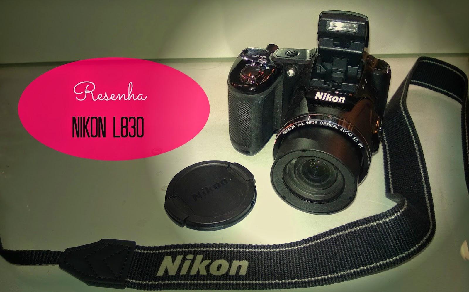 Tudo sobre minha câmera nova: Nikon L830
