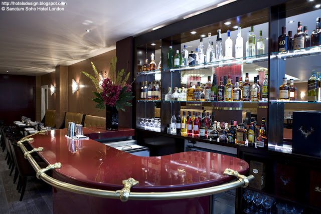 Les Plus Beaux Hotels Design Du Monde Sanctum Soho Hotel By Smith Caradoc Hodgkins Architects
