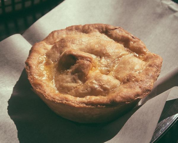 Breakfast pot pie at Yeast Nashville in East Nashville, TN