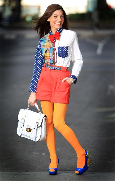DRESS CODE: Quirky Colourful Preppy Nerd!