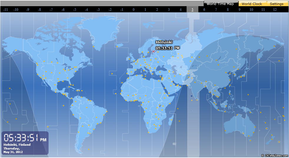 Spend less time in figuring out time zones this advanced flash application is very helpful for travelers who need to know time difference around the world and want to be aware of world time zone they gumiabroncs Choice Image