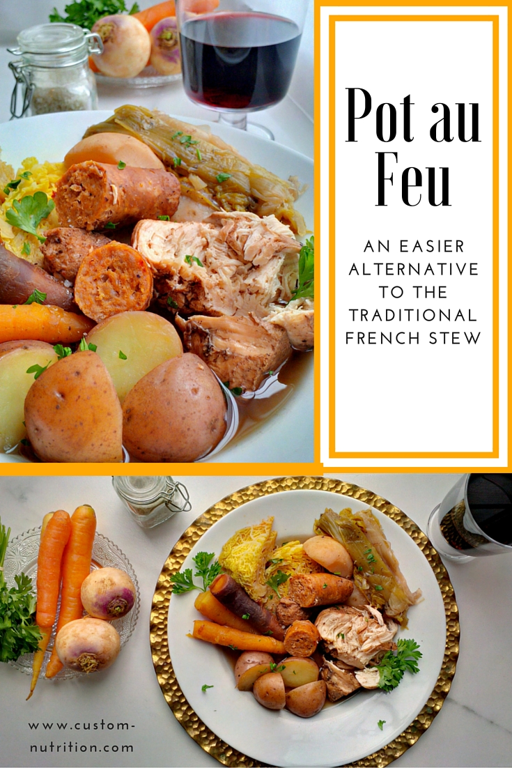 Custom Nutrition: [Recipe] Easy Pot au Feu