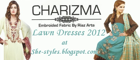 Pakistani Lawn Dresses 2012-13
