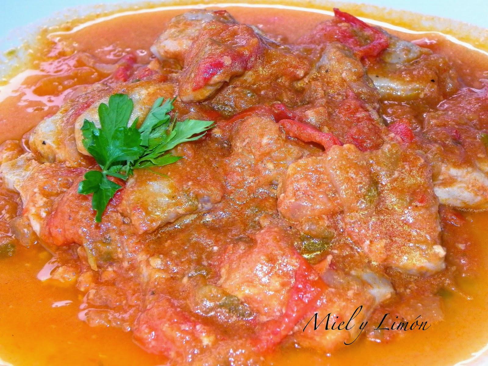 At n con tomate y pimientos 9 sp raci n - Cocinar atun congelado ...