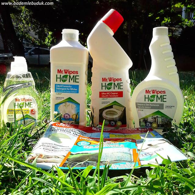 temiz içerikli temizlik ürünleri