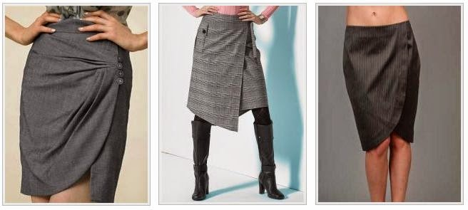 Модели прямых юбок