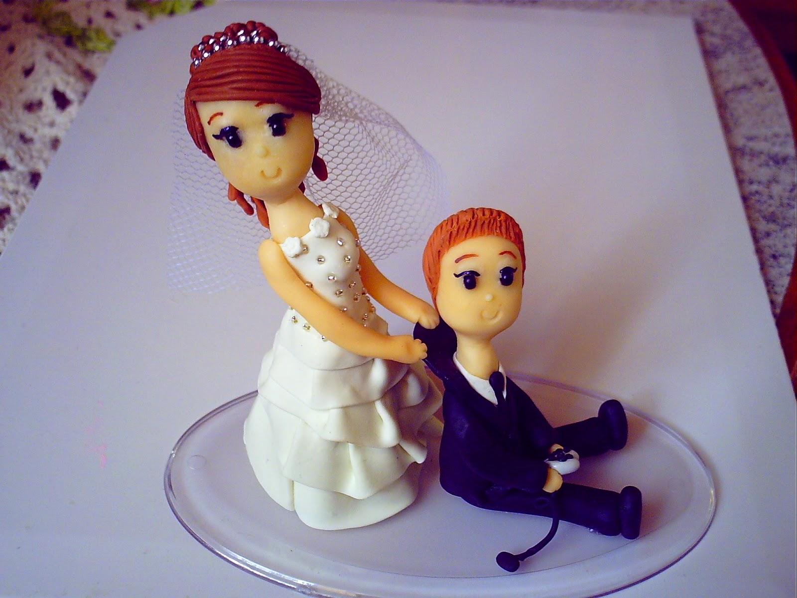 Encantos de Biscuit: * Casamento Topos Noivinhos e Bolos fakes/ Bodas