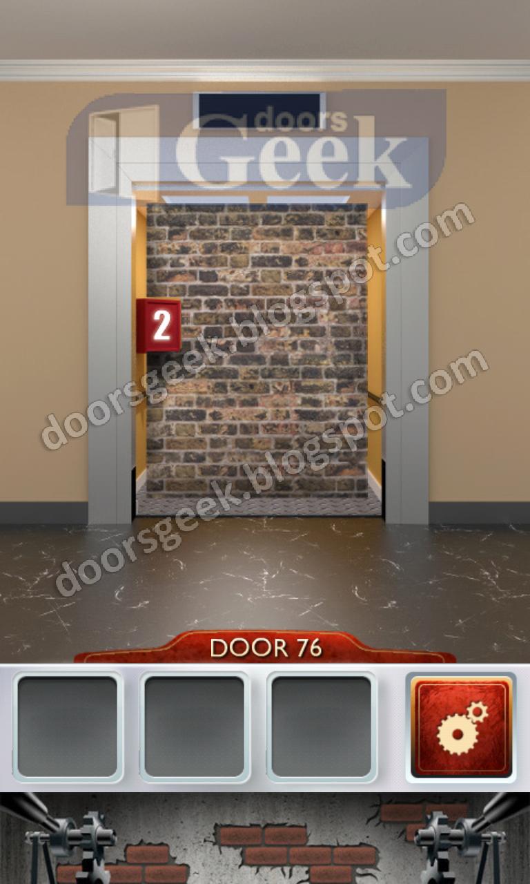 100 doors 2 level 76 doors geek for 100 doors door 6