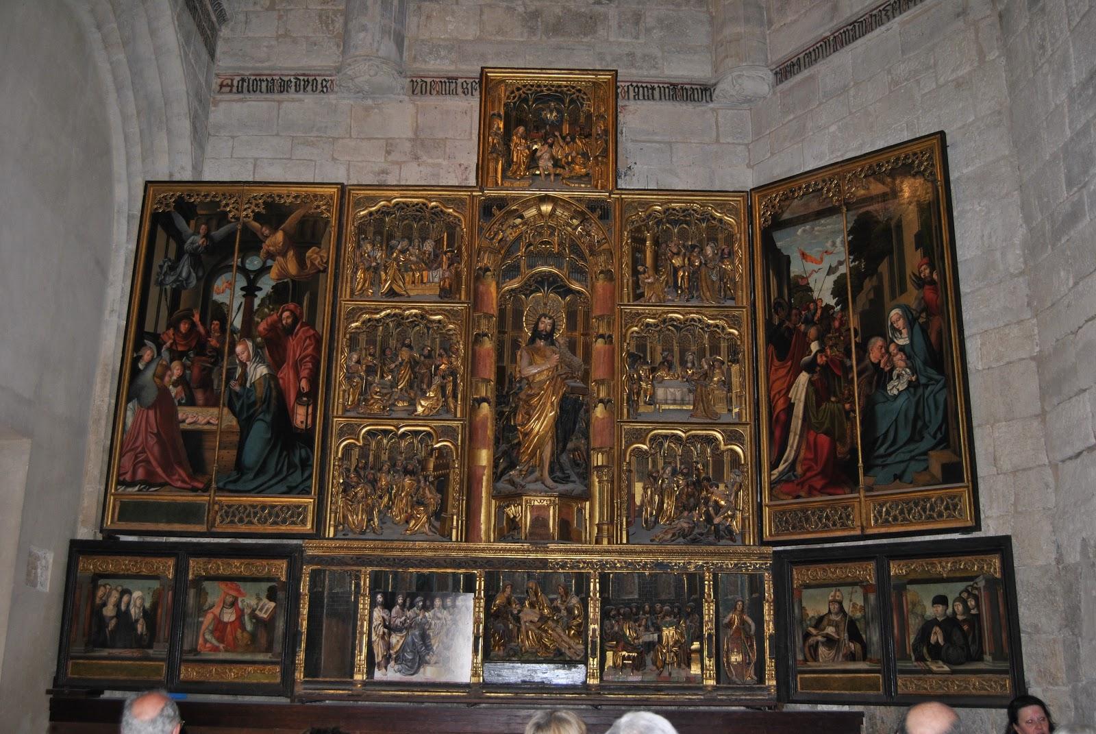 Arte en valladolid un retablo flamenco en valladolid el - Trasdos valladolid ...
