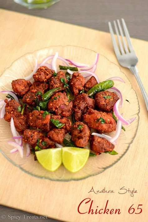 Spicy treats hyderabadi chicken 65 recipe andhra style chicken andhra chicken 65 hyderabadi chicken 65 recipe forumfinder Choice Image