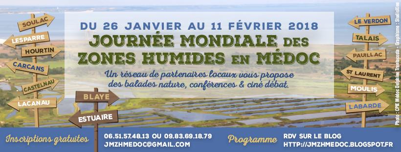 Journée Mondiale des Zones Humides en Médoc-Année 2018