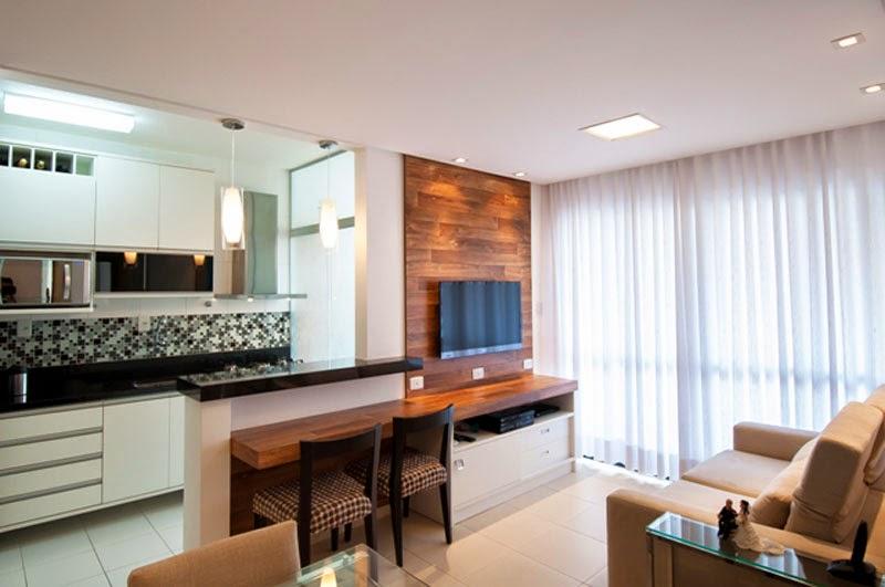 20 cozinhas e salas integradas e pequenas veja timas - Amueblar apartamento ...