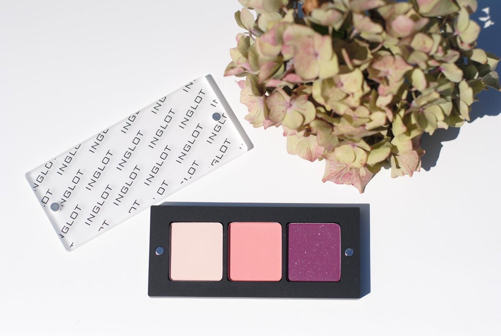 inglot peach or plum eyeshadow palette