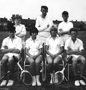 Manor Court Tennis Team sent by Christine