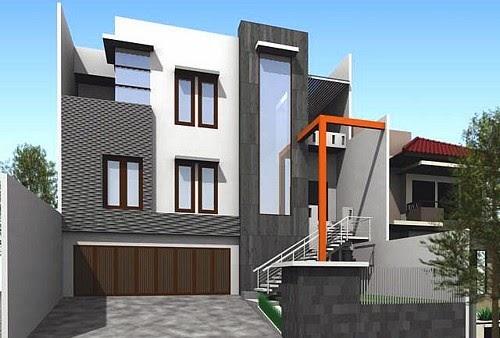 Gambar Rumah Tingkat Minimalis Terbaru 2014