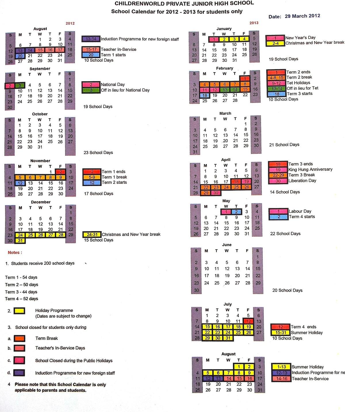 Calendar Year Q : Chulaschools mconline vn pablo