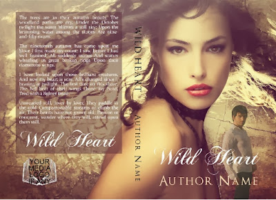 pre made designed book cover