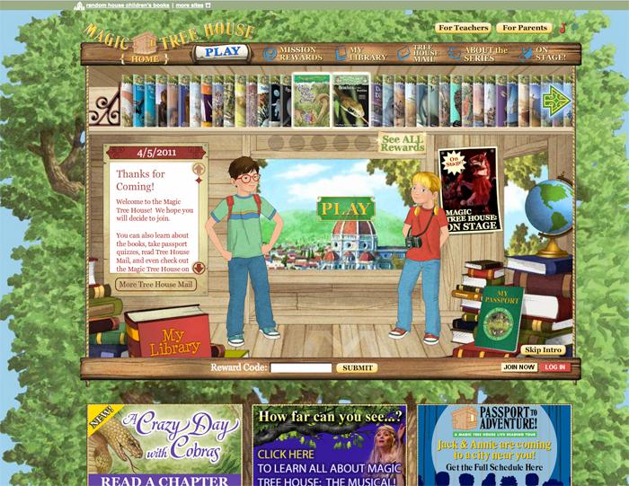 Clever Homeschoolers Website Magic Tree House