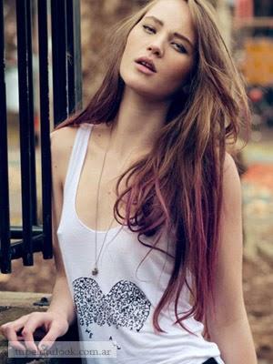 puntas peinados color de pelo 2014