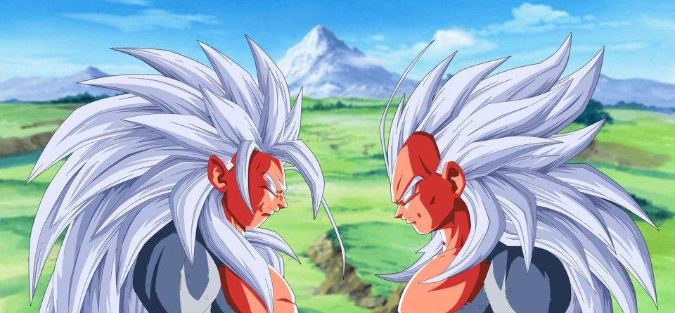 Dragon ball af after the future goku vs vegeta - Goku vs vegeta super saiyan 5 ...