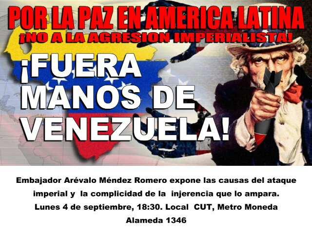 ¡FUERA MANOS DE VENEZUELA¡