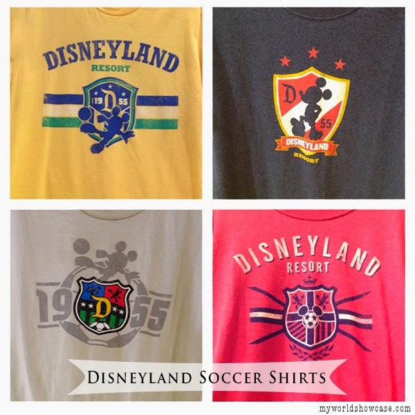 Disneyland Soccer Shirts