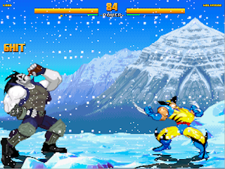 Superheroes 2000 Mugen v4 Lobo vs Wolverine
