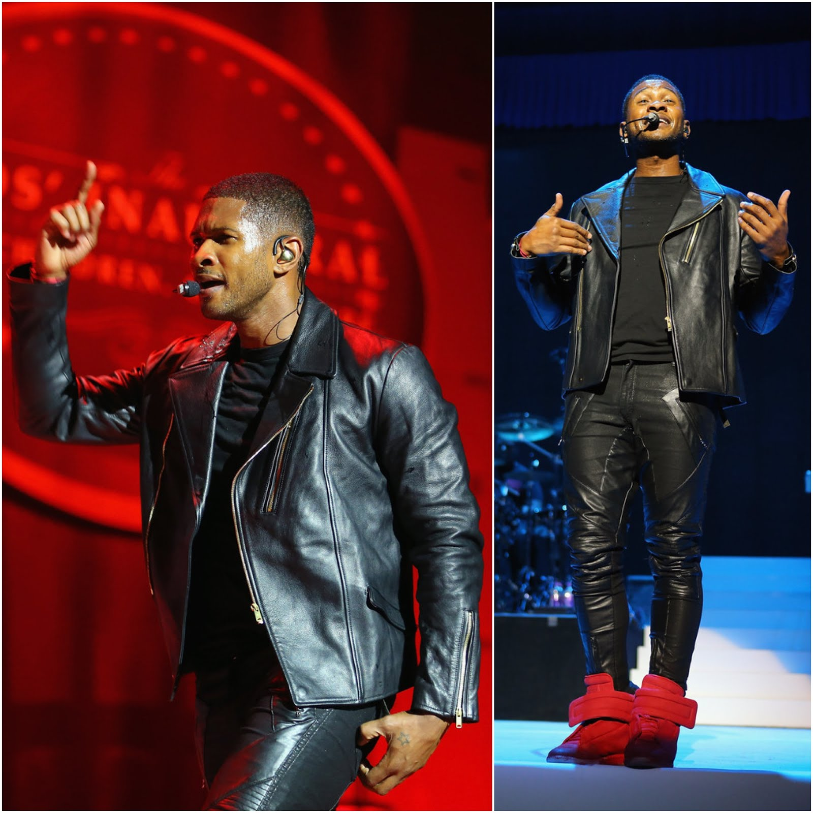 00O00 Menswear Blog Usher in Balenciaga - Kid's Inaugural Concert for President Barack Obama