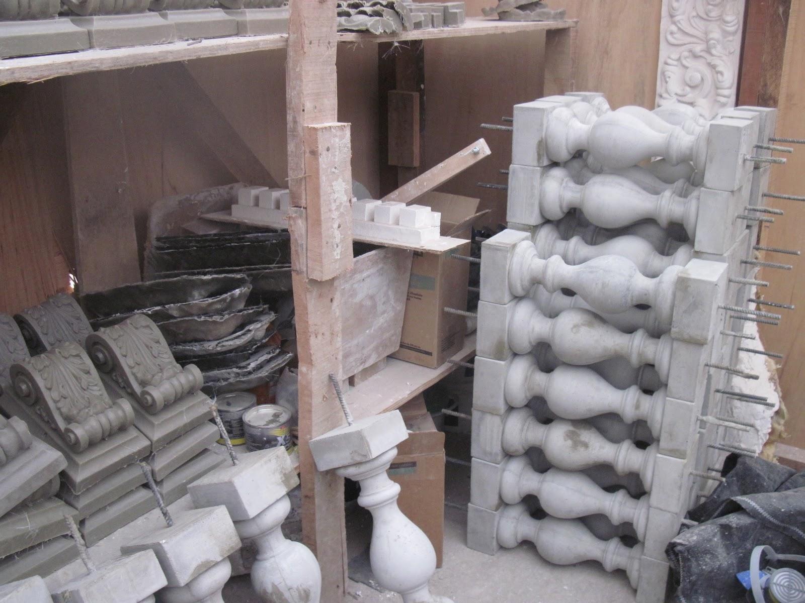 Daniel arturo jara peralta trabajos de restauraci n en el for Molde para cemento