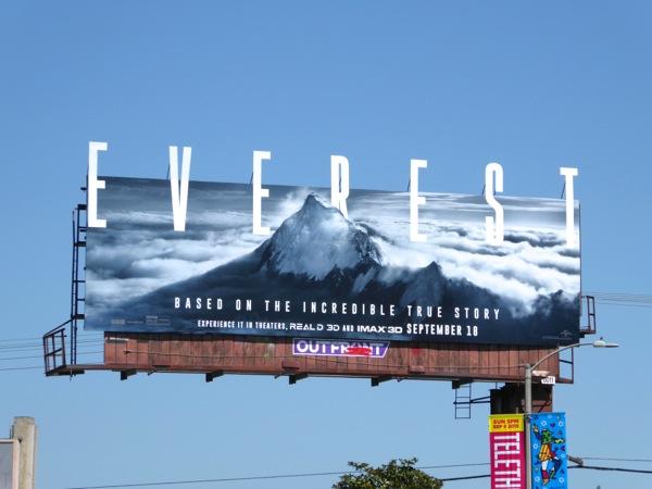 Everest movie billboard