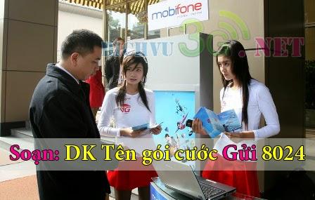 Đăng ký 3g Mobifone qua tin nhắn