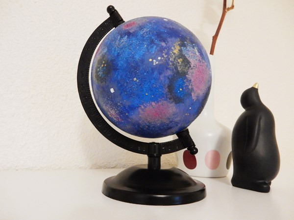 DIY : Globe galaxie