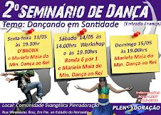 Seminário e workshop de dança em Baurú