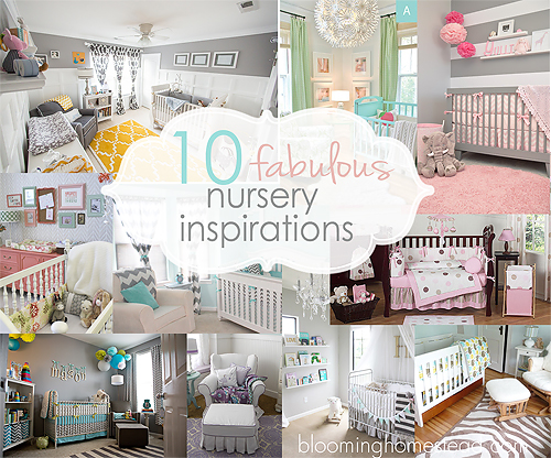 Beautiful Nurseries 10 beautiful nursery inspirations-round-up - blooming homestead