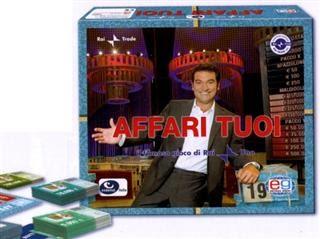 Gioco in scatola affari tuoi idea regalo - Gioco da tavolo affari tuoi ...