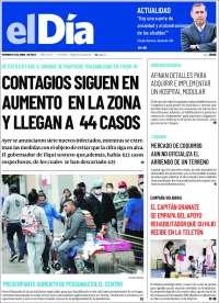 05/04/2020    CHILE  UNA  PRIMERA PÁGINA DE LA PRENSA