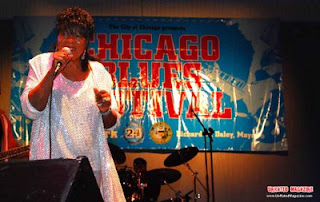 Koko Taylor at the Chicago Blues Festival