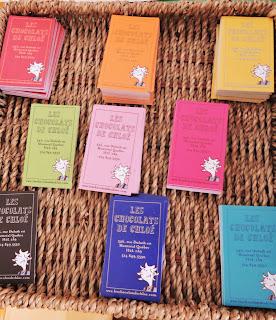 Cartes de visite Les chocolats de Chloé