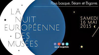 Nuit europeenne des musees 2015 Pays basque Béarn et Bigorre