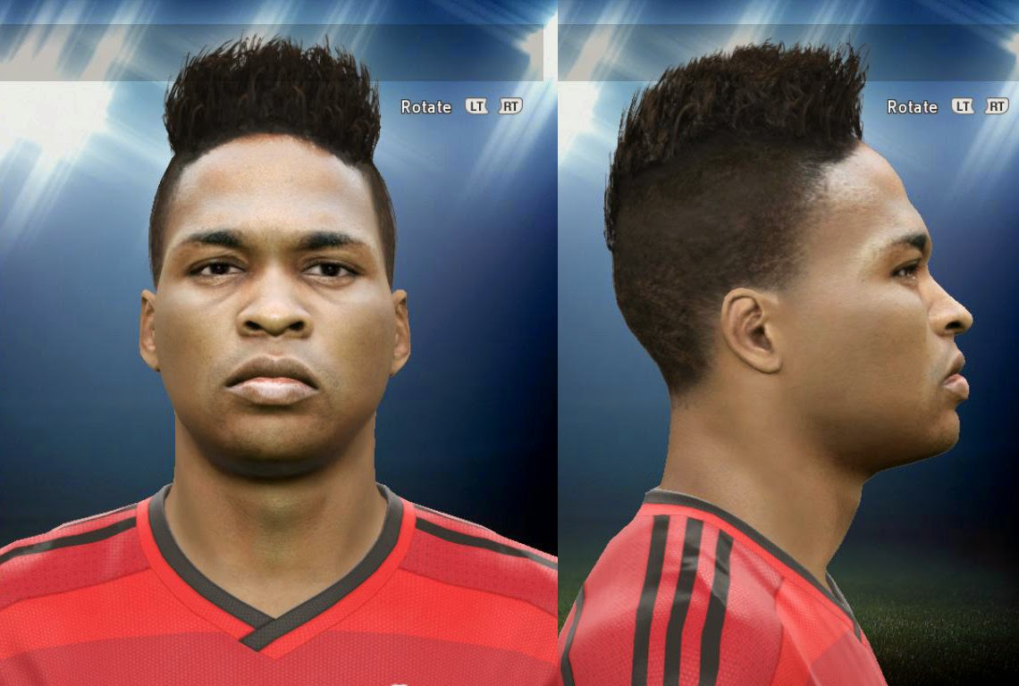 PES 2015 Wendell Borges Face by AMussoullini
