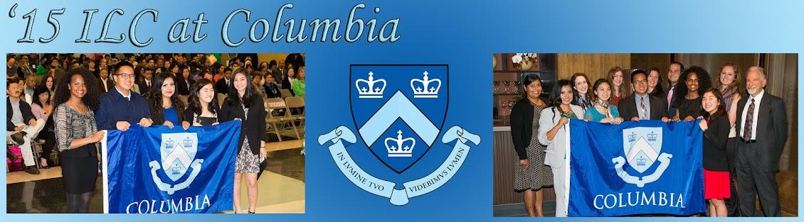 '15 ILC at Columbia