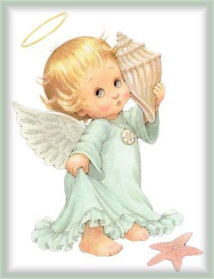 Imagenes angelitos para bautizo - Imagui