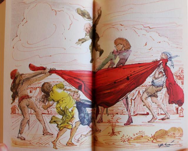 Salvador Dali, Don Quixote, 1946, the Illustrated Modern Library