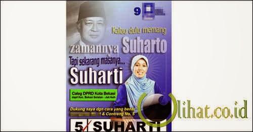 Dulu Suharto Sekarang Suharti