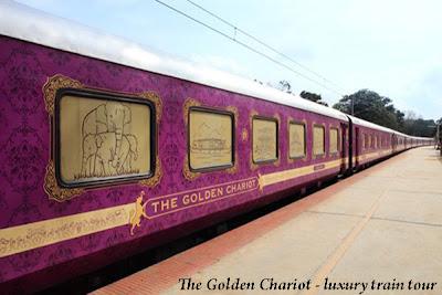 India Tours -The Golden Chariot luxury train tour