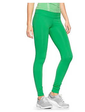 green running pants - Pi Pants
